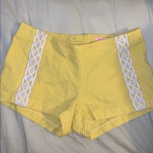 Yellow Lily Shorts A Worn twice